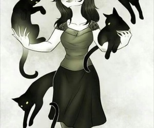 cats, draw, and soul image