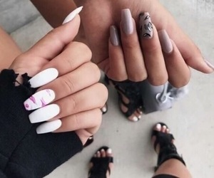 beauty, nails, and chic image