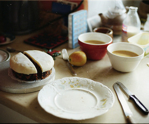 breakfast, coffee, and vintage image