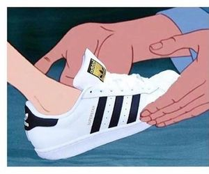princess, adidas, and shoes image