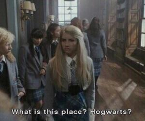 hogwarts, wild child, and emma roberts image