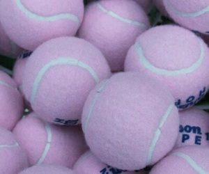 aesthetic, pink, and golf balls image