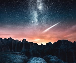 stars, landscape, and nature image