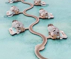 summer, Maldives, and sea image