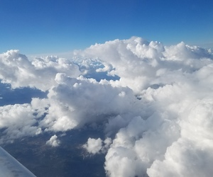 beauty, clouds, and travel image