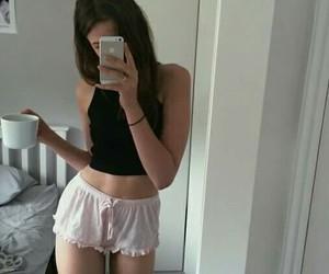 girl, tumblr, and body image