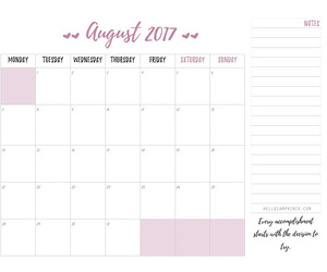 calendar, journal, and planner image