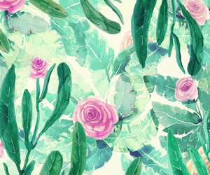 background, floral, and spring image