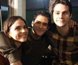 serie, teen wolf, and elenco image