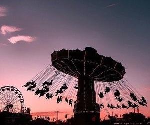 fun, sky, and sunset image