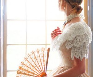 beautiful, dress, and french image