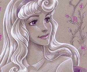 aurora, pencil, and princess image