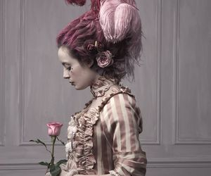 victorian, beautiful, and dress image