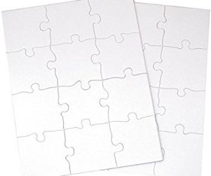 wedding guest book, wedding puzzle, and guest book puzzle image