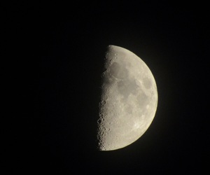 moon, photography, and sky image