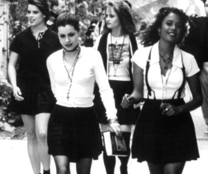 The Craft, witch, and black and white image