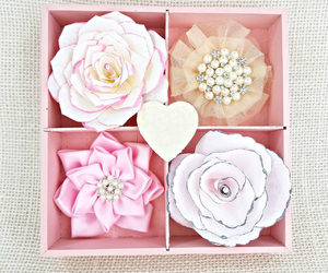 etsy, flower wall decor, and pink decor image