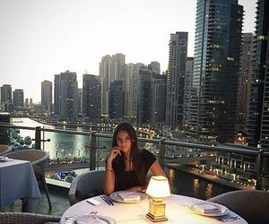 city, luxury, and dinner image