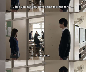 jdrama, japanese drama, and tv quotes image