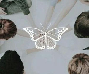 bts, butterfly, and suga image