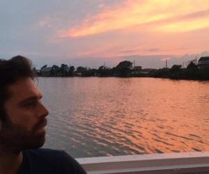 sebastian stan, Marvel, and sunset image