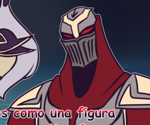 zed, mid, and league of legends image