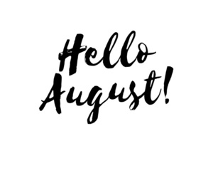 August, hello august, and hello months image