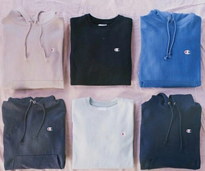 champion, fashion, and hoodie image