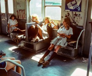 70s, girls, and vintage image