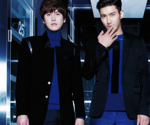 kyuhyun, super junior, and siwon image