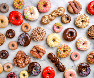 food, donuts, and sweets image