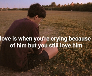 couple, cry, and crying image