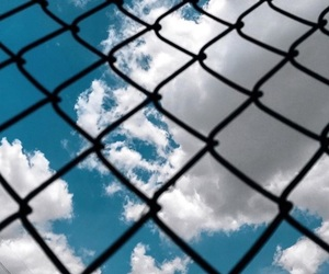 alternative, blue, and clouds image