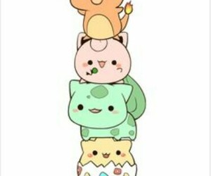 pikachu, evoli, and pokemon image