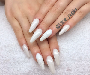 gorgeous, long nails, and manicure image