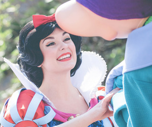dopey, photography, and snow white image