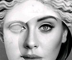25, Adele, and black image