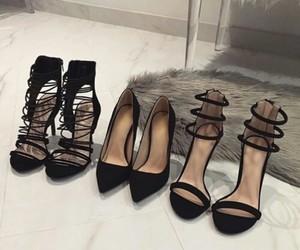 amazing, stiletto, and black image