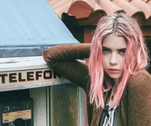 beautiful, ashley benson, and pink hair image