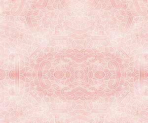 abstract, coral, and geometric image