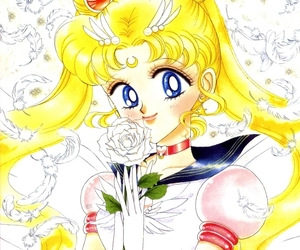 anime, sailor moon, and girl image