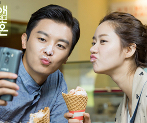 couple, korea, and koreandrama image