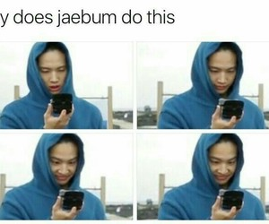 got7, JB, and funny image