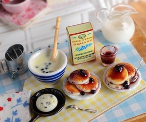 food, miniature, and cute image
