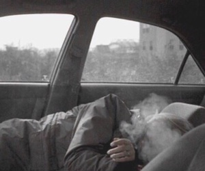 grunge, smoke, and car image