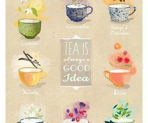 evening, fall, and tea image