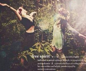 free spirit, free, and spirit image