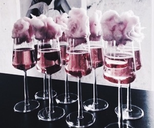 drink, cheers, and wine image