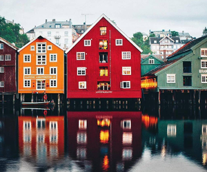 house, nature, and norway image
