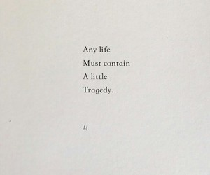 poem, poetry, and tragedy image
